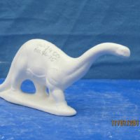 georgies 745 sml bronosaurus  (SP 13)  bisqueware