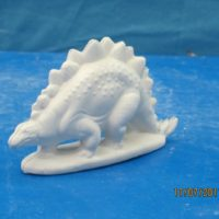 georgies 746 sml stegosaurus  (SP 11)  bisqueware