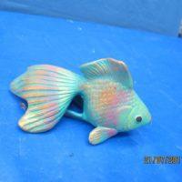 """scioto 1573 sml goldfish   6""""L  bisqueware"""