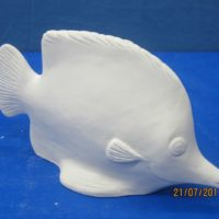 georgies 919 tropical fish (FIS 21)  bisqueware