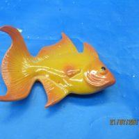 "duncan 2203 goldfish (FIS 40)  4.25""H,5.25""L,2.25""W  bisqueware"