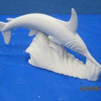 mikes 775 swordfish (FIS 97)  bisqueware