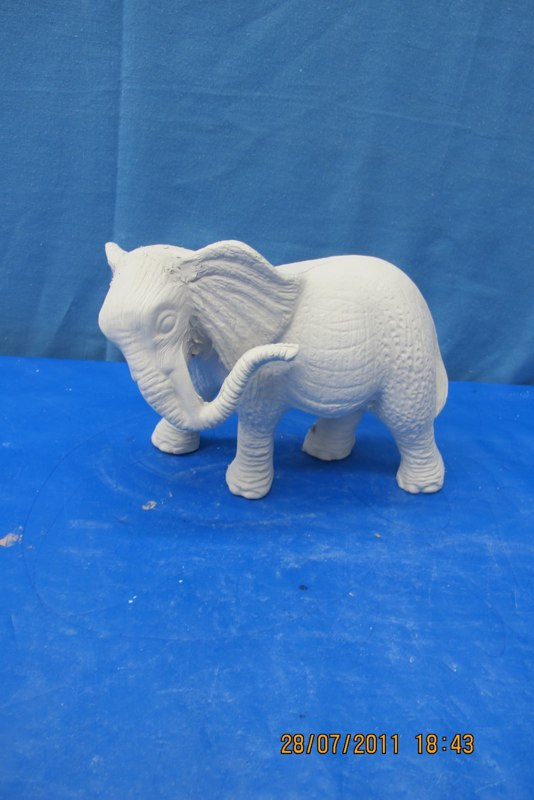 mikes 273 mama elephant (EP 11)   bisqueware