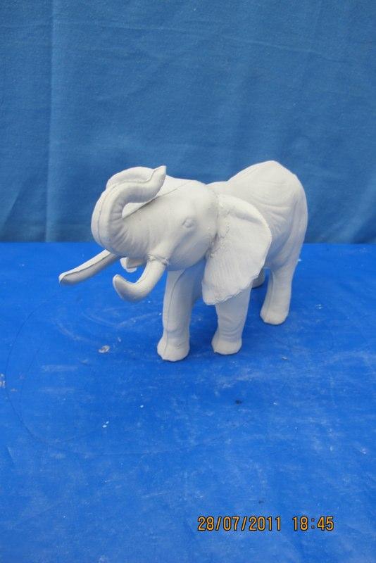 coles 876 bull elephant (EP 2)  bisqueware