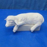 scioto 2386 lge sill sitter sheep (SH 8)  bisqueware