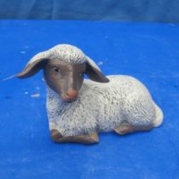 """scioto 961 small sheep (SH 11)  5""""L  bisqueware"""