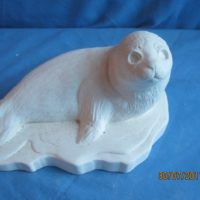 duncan 65A baby seal  (FR 30)  bisqueware