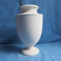 VASE 314 ( tom jones V3) narrow neck urn lamp  19cmH  bisqueware