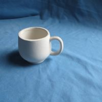 duncan  92A snack cup  bisqueware