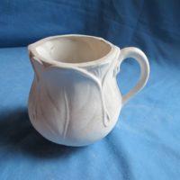 gare L- 758 leaf cup  bisqueware