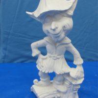 scioto TL532 garden elf gnome (GNOM16)  bisqueware