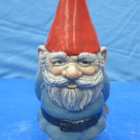 boothe 874 gnome man pointed hat (GNOM 5)  bisqueware