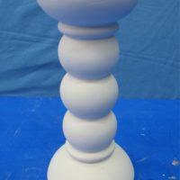 van pacific MVPO 593 short lamp ball candlestick  bisqueware
