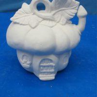 """ceramichrome 2232 squash house (HO 22)  5""""H  bisqueware"""