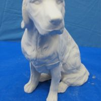 whitehorse 1450 setter (DG145)  bisqueware