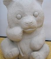 duncan 759A/ 757A panda (KOB 5)  bisqueware